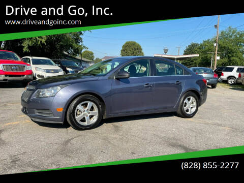 2014 Chevrolet Cruze for sale at Drive and Go, Inc. in Hickory NC