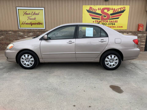 2003 Toyota Corolla for sale at BIG 'S' AUTO & TRACTOR SALES in Blanchard OK