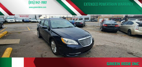 2012 Chrysler 200 for sale at Green Ride Inc in Nashville TN