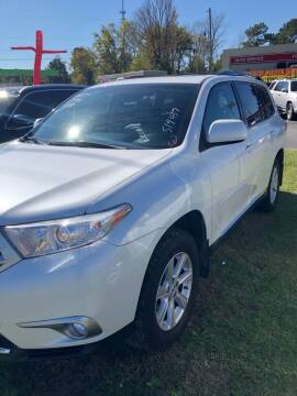 2013 Toyota Highlander for sale at BRYANT AUTO SALES in Bryant AR