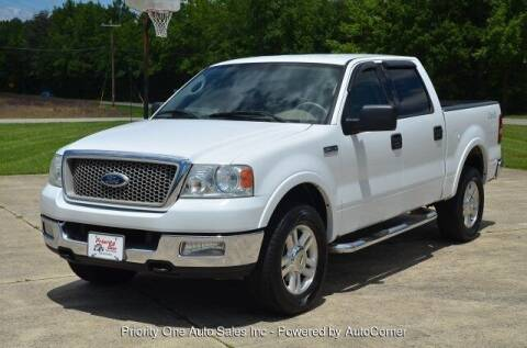 2004 Ford F-150 for sale at Priority One Auto Sales in Stokesdale NC