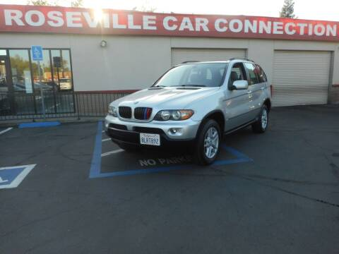 2006 BMW X5 for sale at ROSEVILLE CAR CONNECTION in Roseville CA