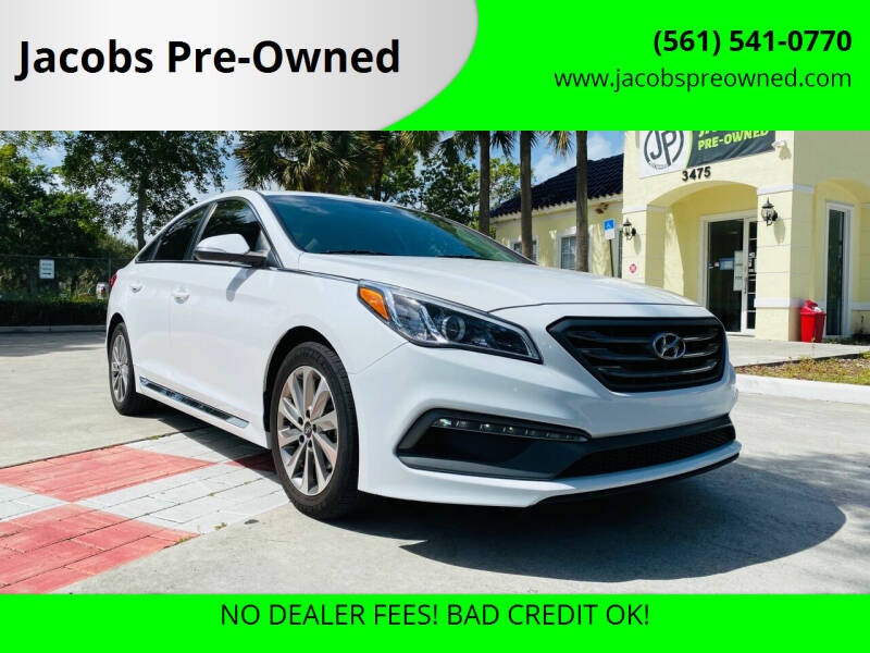 2017 Hyundai Sonata for sale at Jacobs Pre-Owned in Lake Worth FL