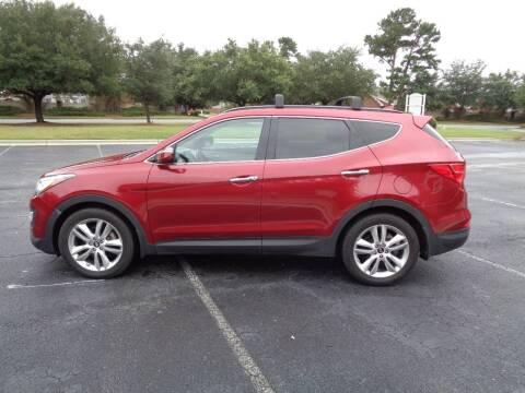 2016 Hyundai Santa Fe Sport for sale at BALKCUM AUTO INC in Wilmington NC