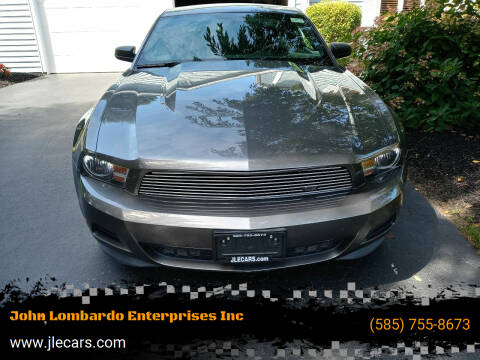 2011 Ford Mustang for sale at John Lombardo Enterprises Inc in Rochester NY