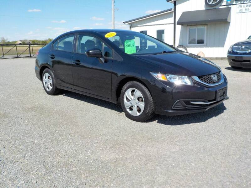 2014 Honda Civic for sale at Country Auto in Huntsville OH