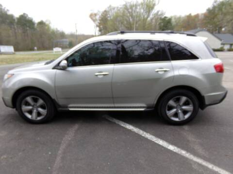 2012 Acura MDX for sale at West End Auto Sales LLC in Richmond VA