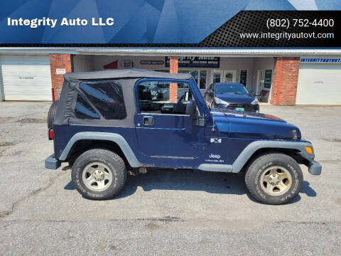 2005 Jeep Wrangler for sale at Integrity Auto LLC - Integrity Auto 2.0 in St. Albans VT