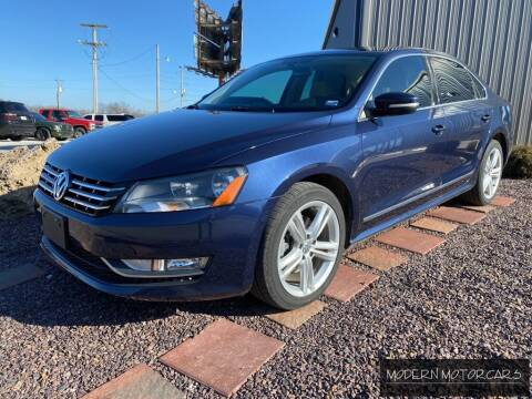 2013 Volkswagen Passat for sale at Modern Motorcars in Nixa MO
