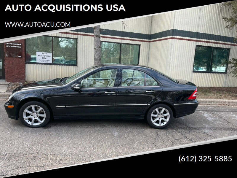 2007 Mercedes-Benz C-Class for sale at AUTO ACQUISITIONS USA in Eden Prairie MN