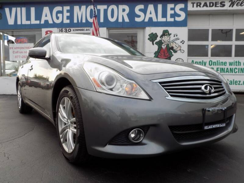 2012 Infiniti G37 Sedan for sale at Village Motor Sales in Buffalo NY