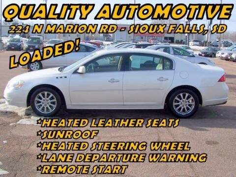 2011 Buick Lucerne for sale at Quality Automotive in Sioux Falls SD