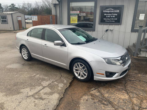 2012 Ford Fusion for sale at Rutledge Auto Group in Palestine TX