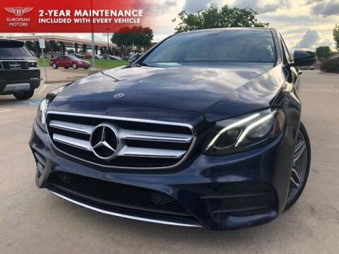 2018 Mercedes-Benz E-Class for sale at European Motors Inc in Plano TX