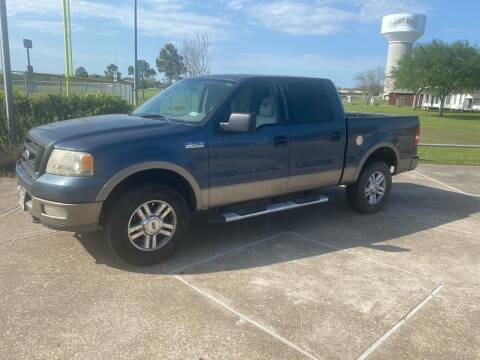 2004 Ford F-150 for sale at M A Affordable Motors in Baytown TX