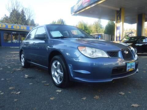 2007 Subaru Impreza for sale at Brooks Motor Company, Inc in Milwaukie OR