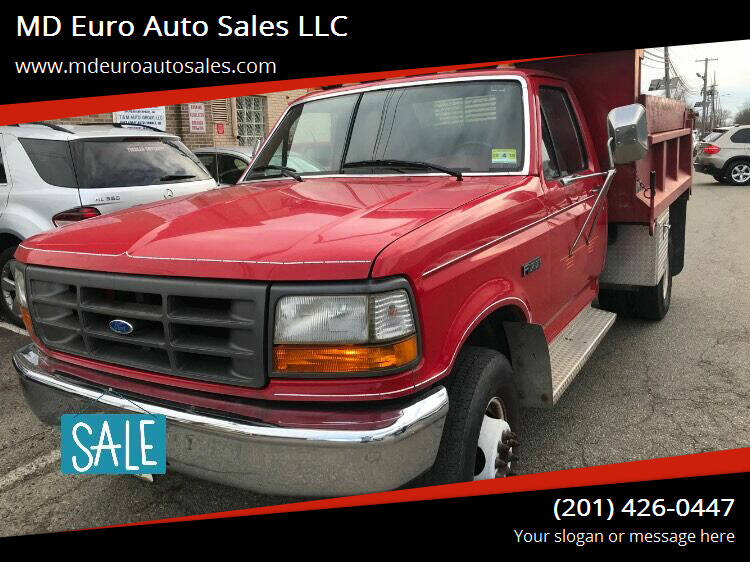 1996 Ford 3500 for sale at MD Euro Auto Sales LLC in Hasbrouck Heights NJ