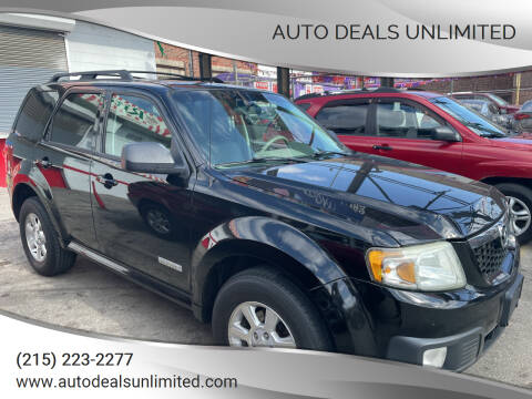 2008 Mazda Tribute for sale at AUTO DEALS UNLIMITED in Philadelphia PA