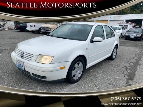 2002 Volkswagen Jetta for sale at Seattle Motorsports in Shoreline WA