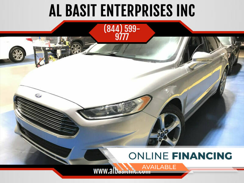 2013 Ford Fusion for sale at AL BASIT ENTERPRISES INC in Riverside CA