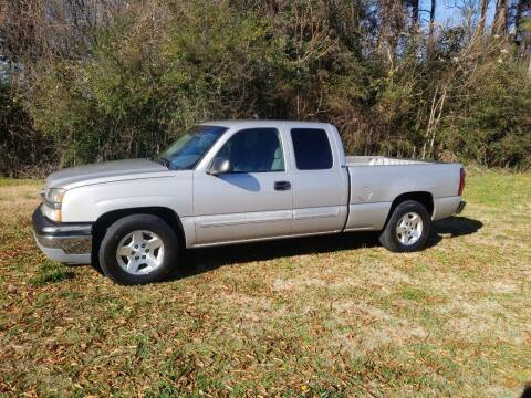 2005 Chevrolet Silverado 1500 for sale at A-1 Auto Sales in Anderson SC