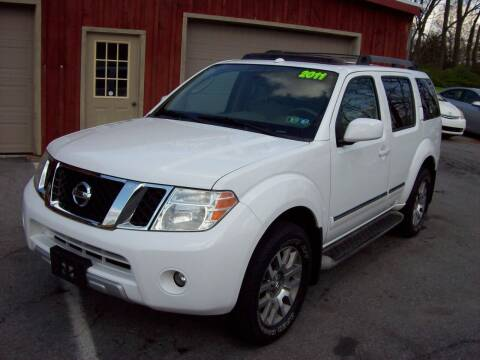 2011 Nissan Pathfinder for sale at Clift Auto Sales in Annville PA