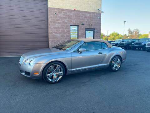 2008 Bentley Continental for sale at CarNu  Sales in Warminster PA