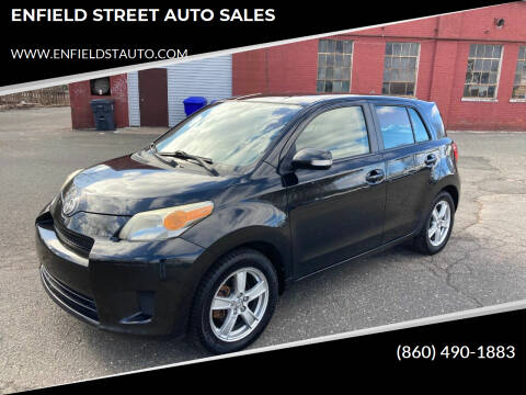 2008 Scion xD for sale at ENFIELD STREET AUTO SALES in Enfield CT