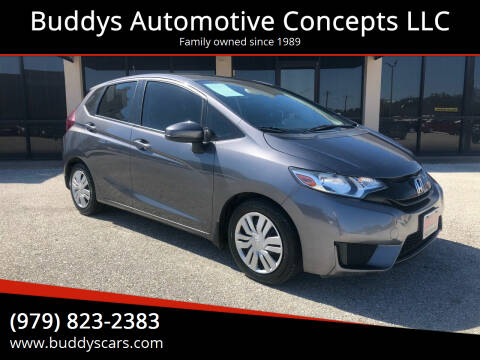 2016 Honda Fit for sale at Buddys Automotive Concepts LLC in Bryan TX