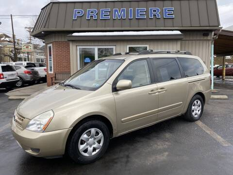 2008 Kia Sedona for sale at Premiere Auto Sales in Washington PA