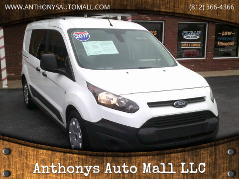 2017 Ford Transit Connect Cargo for sale at Anthonys Auto Mall LLC in New Salisbury IN