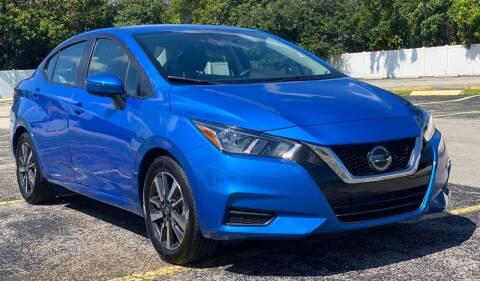 2020 Nissan Versa for sale at Guru Auto Sales in Miramar FL