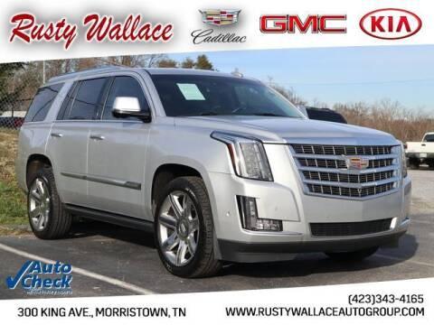 2018 Cadillac Escalade for sale at RUSTY WALLACE CADILLAC GMC KIA in Morristown TN