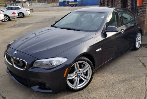 2013 BMW 5 Series for sale at SUPERIOR MOTORSPORT INC. in New Castle PA