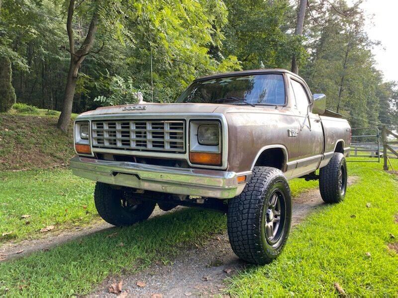 1983 Dodge RAM 150 for sale at Lenoir Auto in Lenoir NC