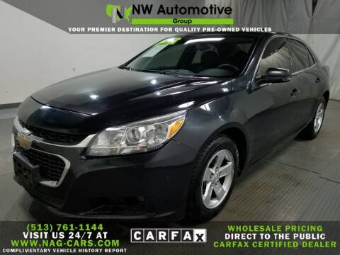 2015 Chevrolet Malibu for sale at NW Automotive Group in Cincinnati OH