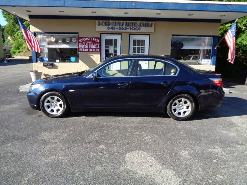 2004 BMW 5 Series for sale at 3 Old Guys Auto Sales in Newburgh NY