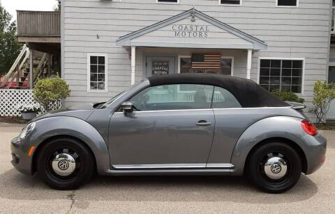 2016 Volkswagen Beetle Convertible for sale at Coastal Motors in Buzzards Bay MA