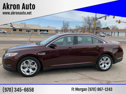 2010 Ford Taurus for sale at Akron Auto - Fort Morgan in Fort Morgan CO