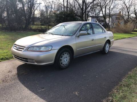2002 Honda Accord for sale at ARS Affordable Auto in Norristown PA