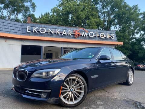 2013 BMW 7 Series for sale at Ekonkar Motors in Scotch Plains NJ