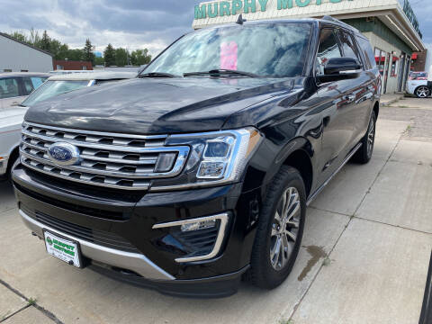 2018 Ford Expedition MAX for sale at Murphy Motors Next To New Minot in Minot ND