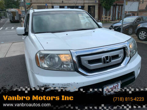 2011 Honda Pilot for sale at Vanbro Motors Inc in Staten Island NY