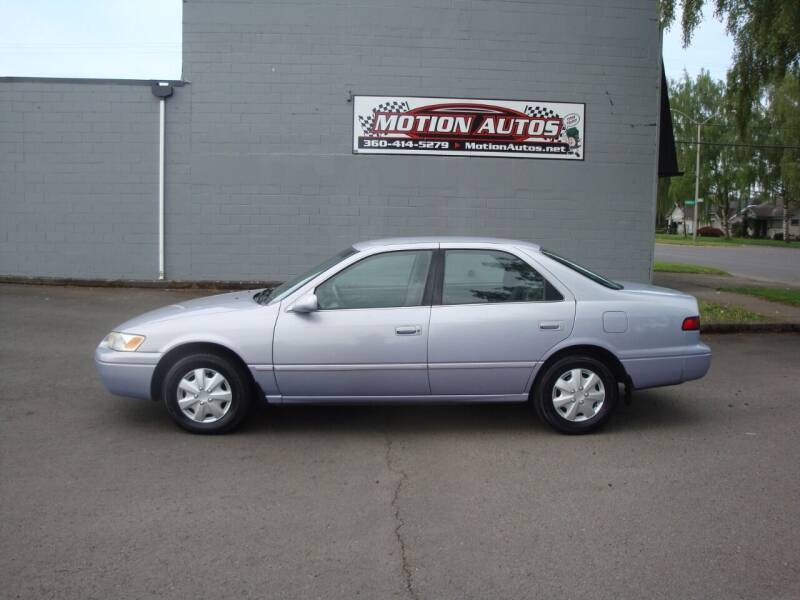 1998 Toyota Camry for sale at Motion Autos in Longview WA