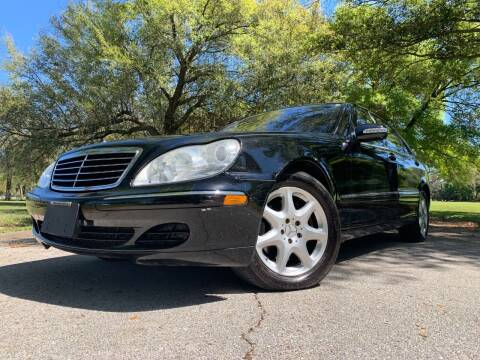 2004 Mercedes-Benz S-Class for sale at FLORIDA MIDO MOTORS INC in Tampa FL