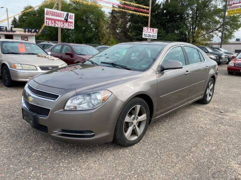 2011 Chevrolet Malibu for sale at Affordable 4 All Auto Sales in Elk River MN