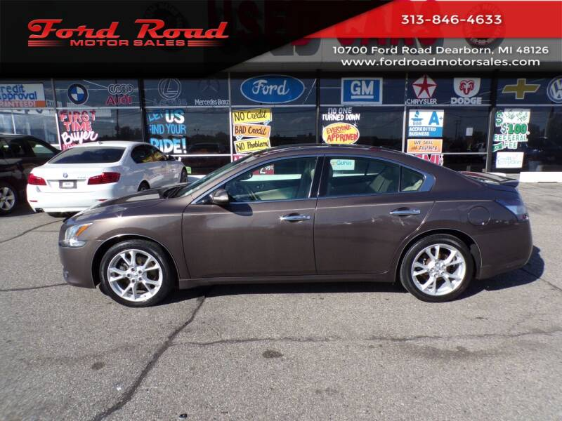 2014 Nissan Maxima for sale at Ford Road Motor Sales in Dearborn MI