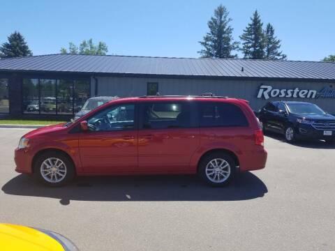 2015 Dodge Grand Caravan for sale at ROSSTEN AUTO SALES in Grand Forks ND