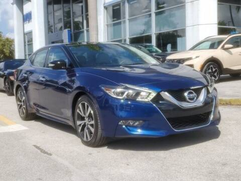 2017 Nissan Maxima for sale at DORAL HYUNDAI in Doral FL