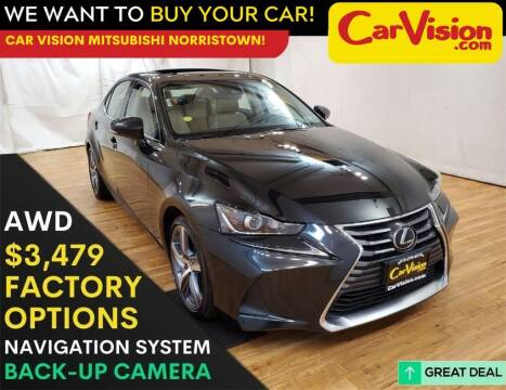 2017 Lexus IS 300 for sale at Car Vision Mitsubishi Norristown in Trooper PA